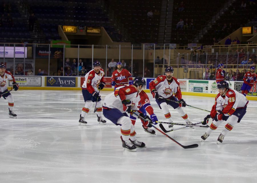 RANK NAMED SPHL EASTON PLAYER OF MONTH